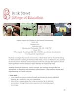 Bank Street EDUC551